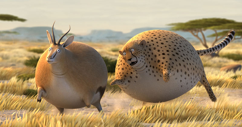 A Delightful Series of Animated Shorts Wonders: What if Animals Were Round?