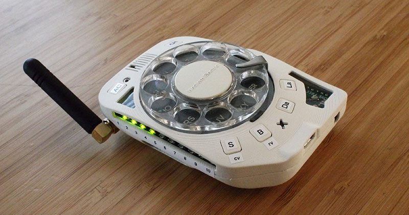 This Space Engineer Hates Touchscreens So She Built a Rotary Cellphone