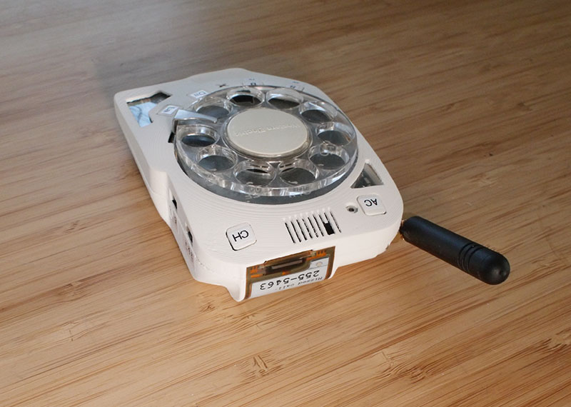 rotary cellphone by justine haupt 6 This Space Engineer Hates Touchscreens So She Built a Rotary Cellphone