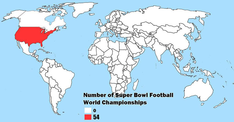 super bowl world championships map The Shirk Report – Volume 564