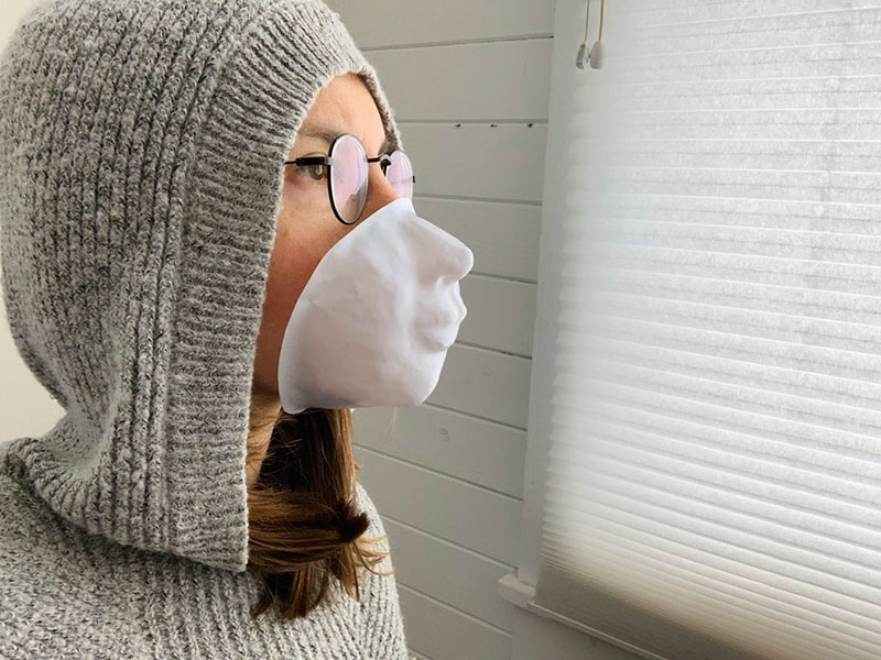 you can now print your face onto a mask so you can unlock your phone 2 You Can Now Print Your Face Onto a Mask So You Can Still Unlock Your Phone