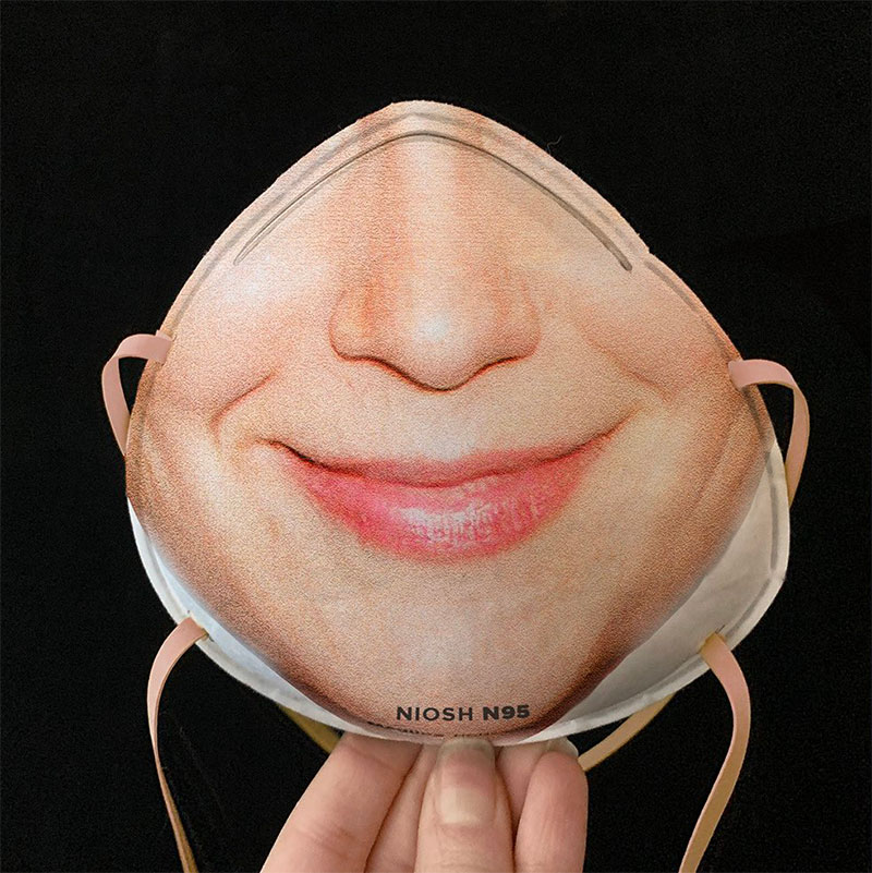 you can now print your face onto a mask so you can unlock your phone 8 You Can Now Print Your Face Onto a Mask So You Can Still Unlock Your Phone