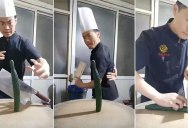 Now THAT is what you call a chef! (watch to the end)