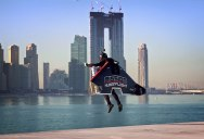 Seeing This Guy Take Flight is Like Watching a Superhero Movie in Real Life