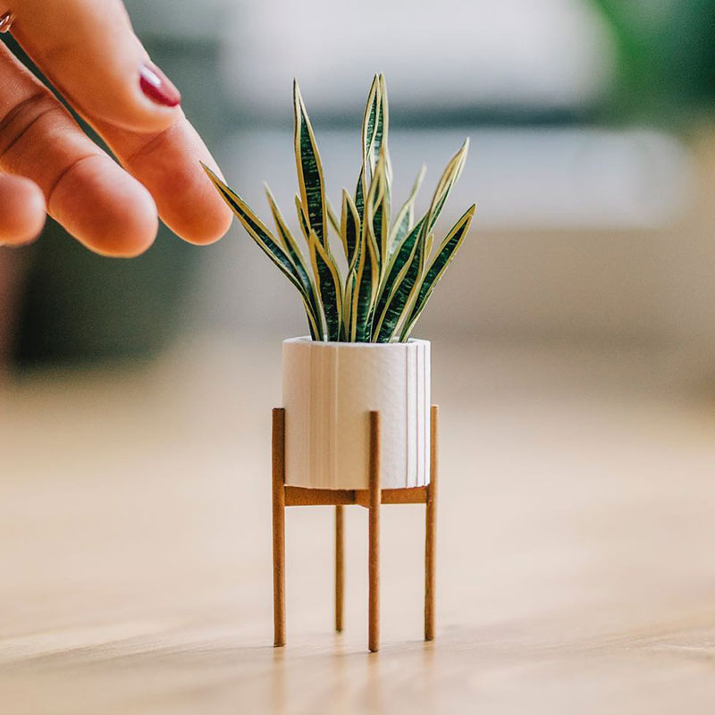 miniature paper potted plants by raya sader bujana 1 These Miniature Potted Plants Made from Paper are Just Adorable