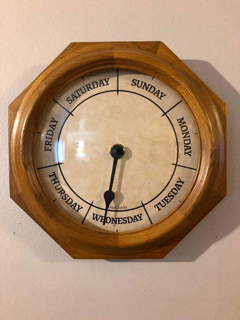 quarantine wall clock covid19 coronavirus day clock Updated Wall Clocks for 2020