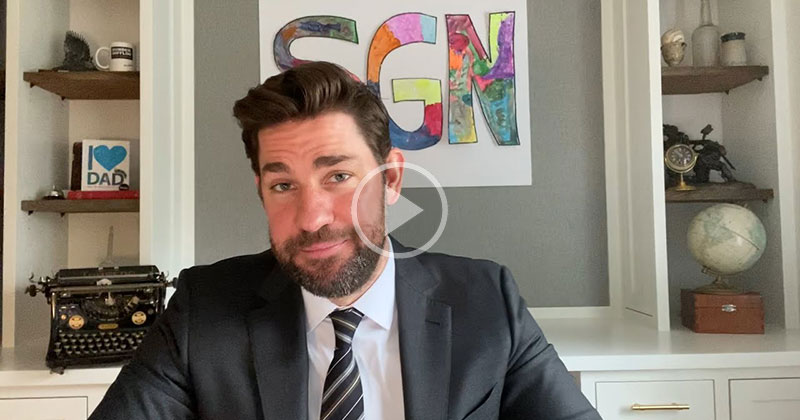 15 Minutes of Some Good News with John Krasinski