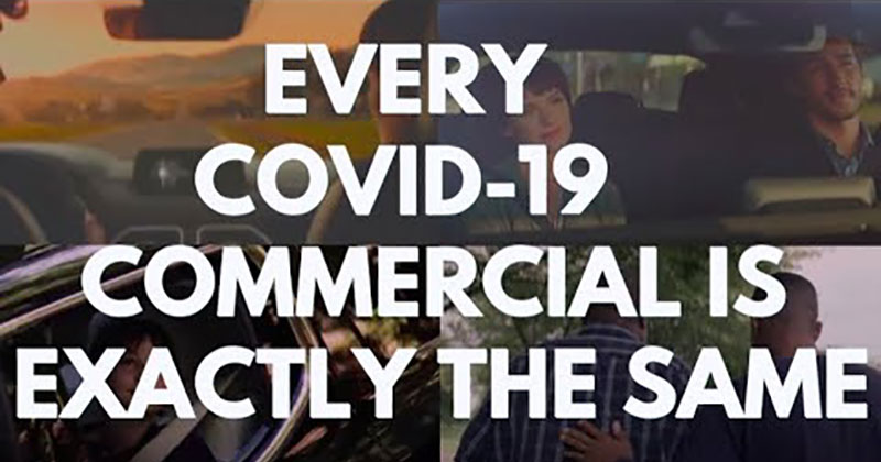 Someone Spliced Every Brand's Covid Commercial Together Because They're All the Same