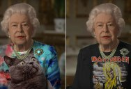 The Queen Wore Another 'Green Screen' Outfit and the Internet Rejoiced