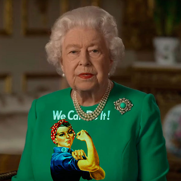 green screen queen photoshop green top 20 The Queen Wore Another Green Screen Outfit and the Internet Rejoiced