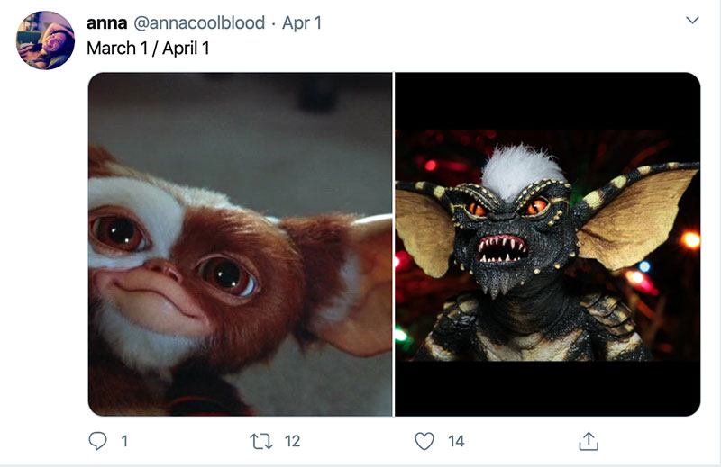 "march 1 vs march 31 april 1 meme best of 23 These ""March 1 vs April 1"" Posts Perfectly Capture How Intense the Last Month Was"
