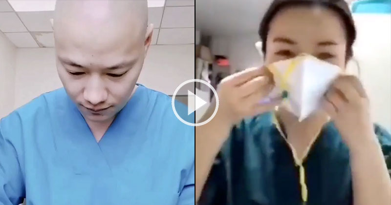 The Amazing Preparation These Doctors Go Through Before Starting Their Shift