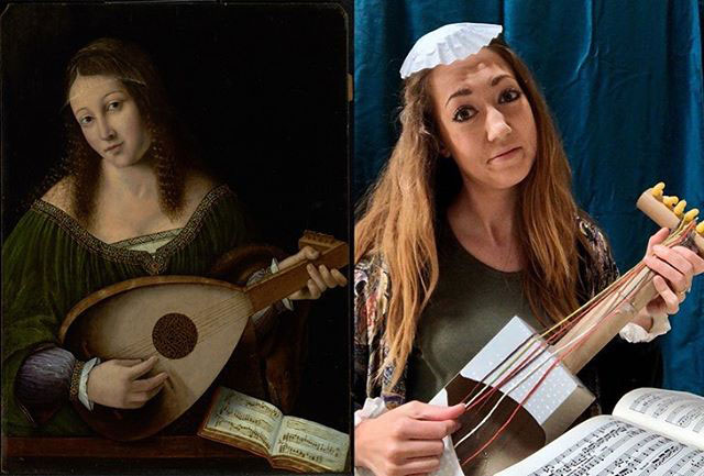people recreating famous paintings at home getty museum challenge 46 People Stuck at Home are Recreating Famous Paintings and Its Awesome