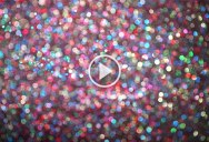 Falling Glitter in 4K Super Slow Motion Creates the Most Beautifully Abstract Visuals