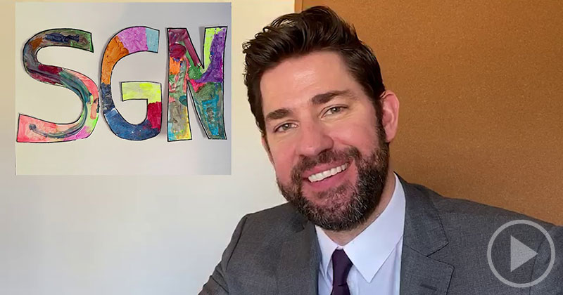 John Krasinski is Back with Another 15 Minutes of Some Good News