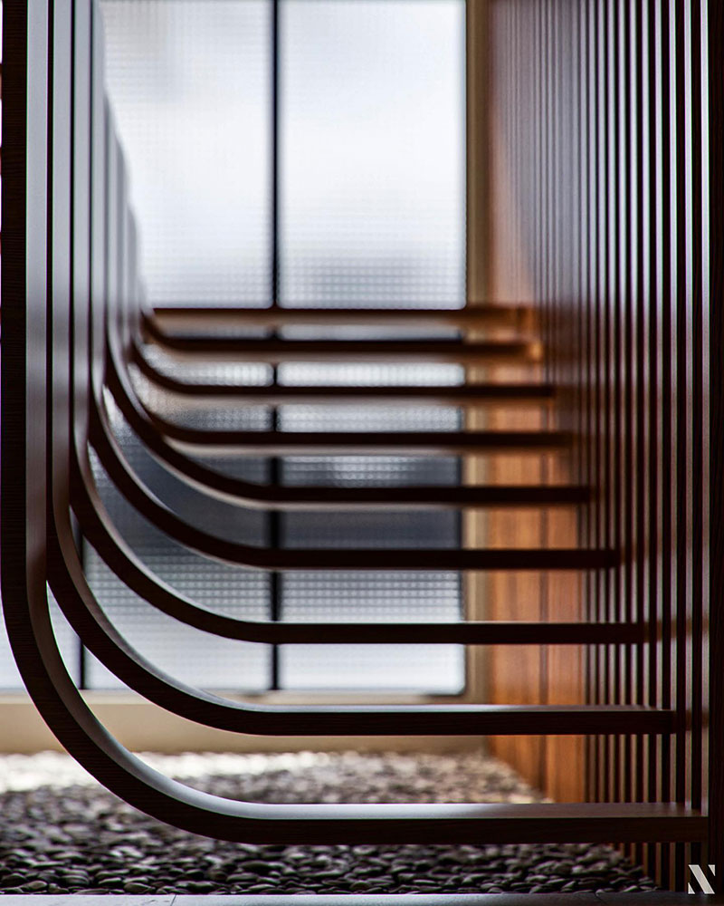 duplex stairs designed by eisa ghasemian 2 1 These Floating Duplex Stairs by Eisa Ghasemian are Stunning