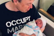 Elon Named His Newborn Son 'X Æ A-12 Musk' and the Internet Had Some Thoughts