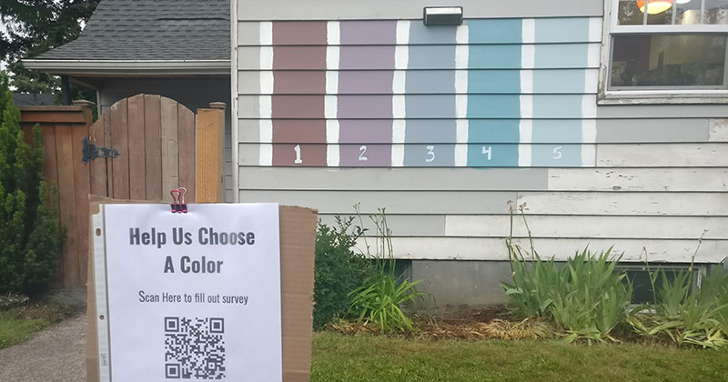 Hilarious Home Owners Create Survey to Help Choose Next House Color