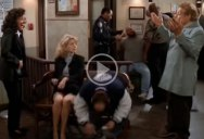 This Behind the Scenes Look at Seinfeld's Most Famous Outtake Captures Jerry Stiller Perfectly