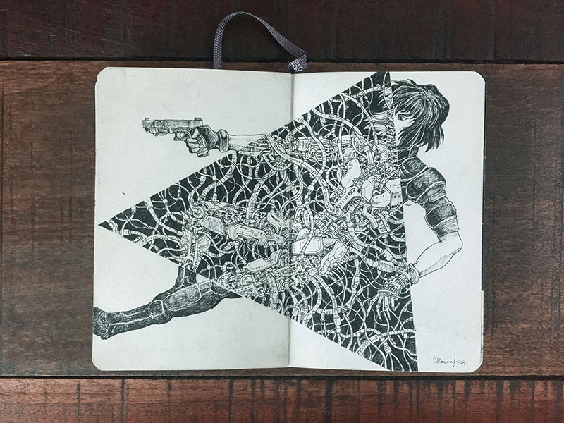 kerby rosanes sketchbook illustrations 8 Kerby Rosanes Sketchbooks are Beautiful Works of Art Unto Themselves