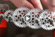 This Guy Made a Googol to 1 Gear Reduction Machine Entirely Out of LEGO