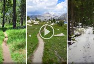 The Variety of Landscapes You See on the Pacific Crest Trail is Incredible