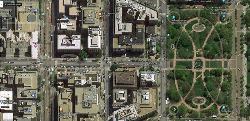 black lives matters street outside of white house 5 The Street Outside the White House was Just Changed to Black Lives Matter Plaza