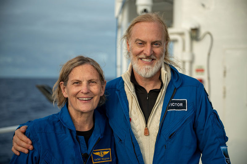 dr kathy sullivan first woman to walk in space and reach deepest point of earth 1 Kathy Sullivan is the First Person to Walk in Space and Reach Deepest Point in Ocean