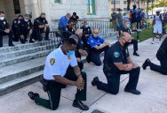 Across the Country, a Few Brave Police Officers are Standing in Solidarity