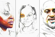 Artist Channels Grief Into Unfinished Portraits Where 1 Year of Life = 1 Minute of Color