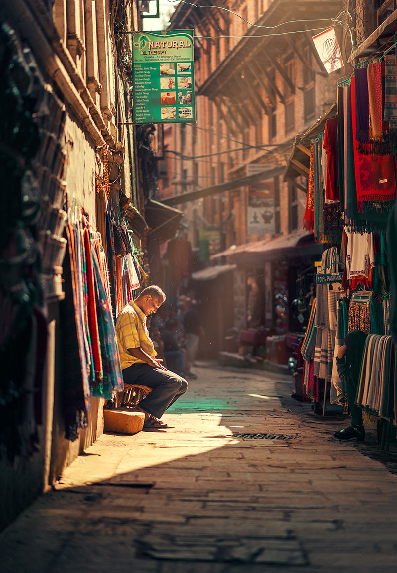 kathmandu street photography by ashraful arefin 17 The Lighting in this Kathmandu Street Photography Series is Beautiful