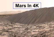 Jaw Dropping Footage from Mars Rovers Rendered in Stunning 4K