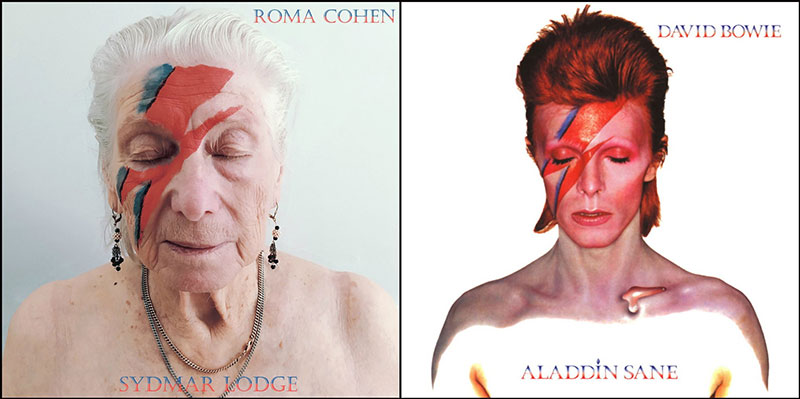 nursing home recreates album covers 10 On Lockdown Since March, This Nursing Home is Recreating Album Covers for Fun