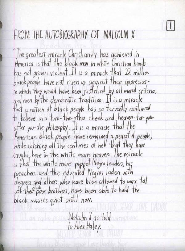 spike lee handwritten script do the right thing 4 Spike Lees Do the Right Thing Screenplay, Handwritten in March of 1988