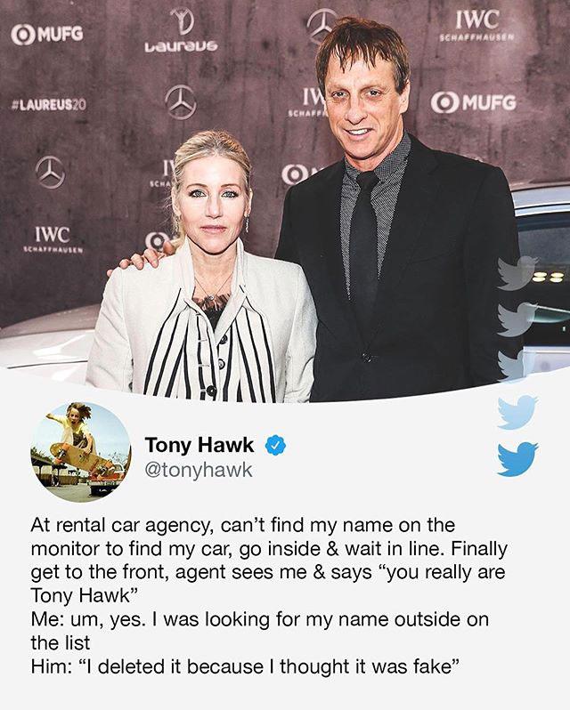 tony hawks stories of his random encounters are delightful 3 Tony Hawks Twitter Stories of His Random Encounters are Delightful