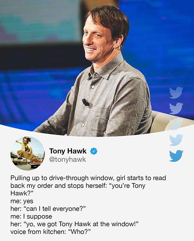 tony hawks stories of his random encounters are delightful 4 Tony Hawks Twitter Stories of His Random Encounters are Delightful