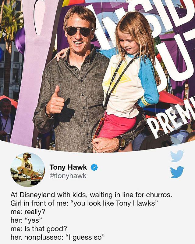 tony hawks stories of his random encounters are delightful 5 Tony Hawks Twitter Stories of His Random Encounters are Delightful