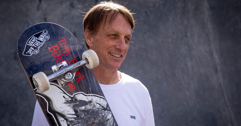 Tony Hawk's Twitter Stories of His Random Encounters are Delightful