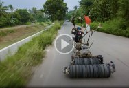 The 'Mad Max' Vespas of Indonesia