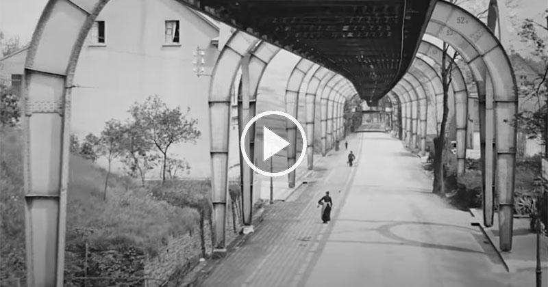 This Video of Germany in 1902 was Taken from a Flying Train and the Quality is Incredible