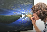 This is the Most Ambitious Stop Motion/Timelapse Painting I've Seen. Nearly 3 Years in the Making
