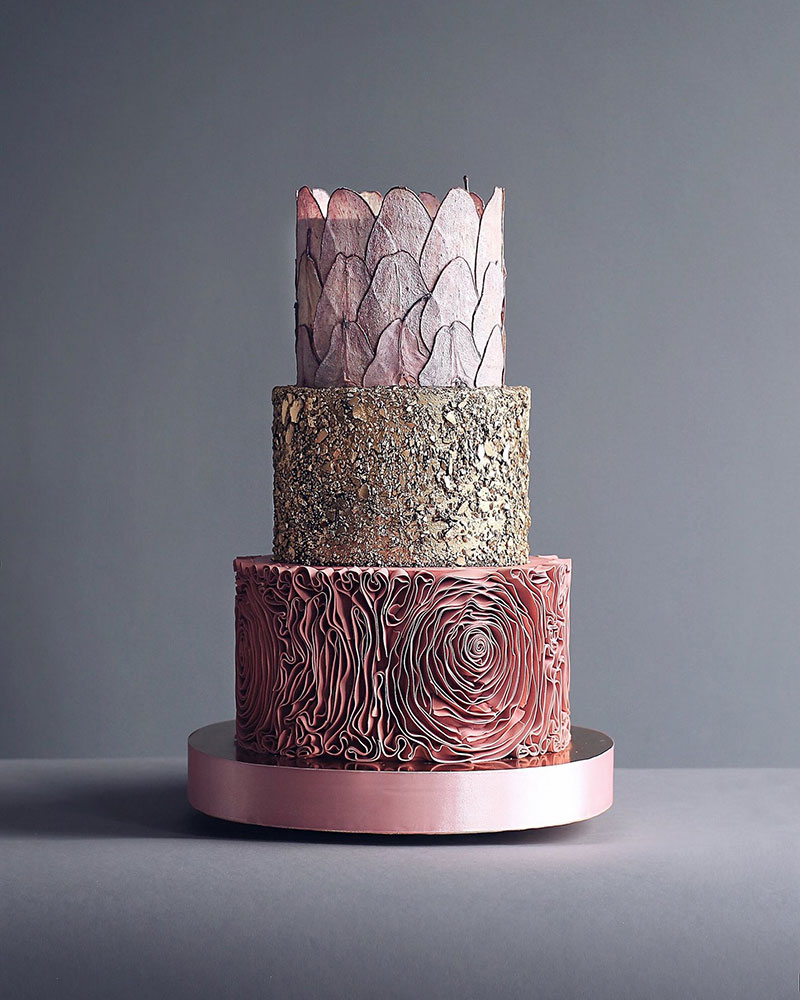 art cakes by tortik annushka 10 This Design Studio Makes Works of Art that Just So Happen to be Cakes