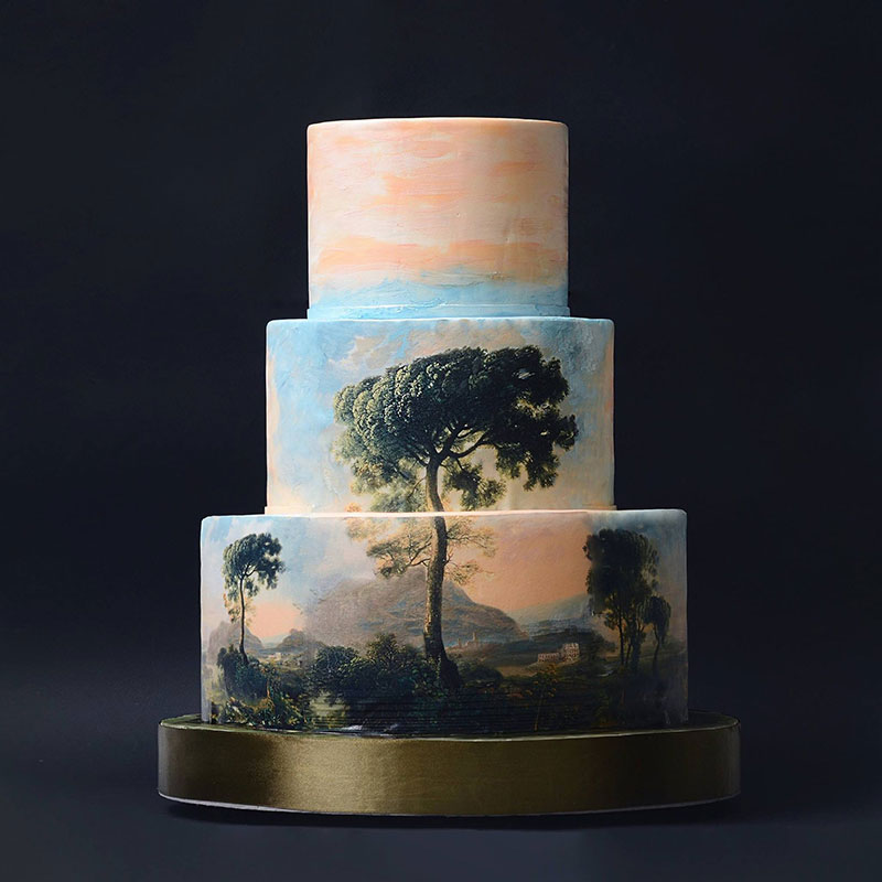 art cakes by tortik annushka 3 This Design Studio Makes Works of Art that Just So Happen to be Cakes