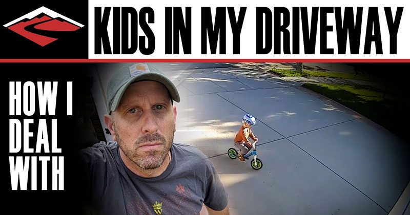 This Guy Found the Perfect Way to Deal with Kids Playing in His Driveway