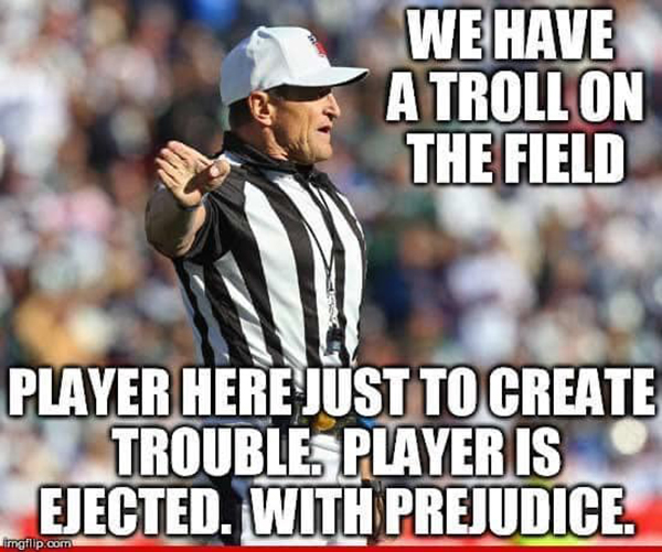 nfl ref meme arguing debate online internet fallacies 2 These NFL Ref Memes About Arguing on the Internet are Perfect