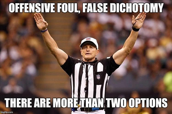 nfl ref meme arguing debate online internet fallacies 3 These NFL Ref Memes About Arguing on the Internet are Perfect