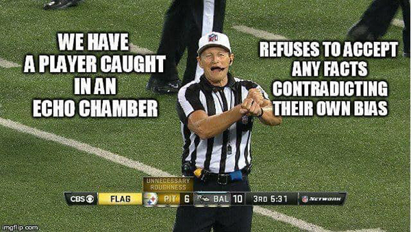 nfl ref meme arguing debate online internet fallacies 4 These NFL Ref Memes About Arguing on the Internet are Perfect