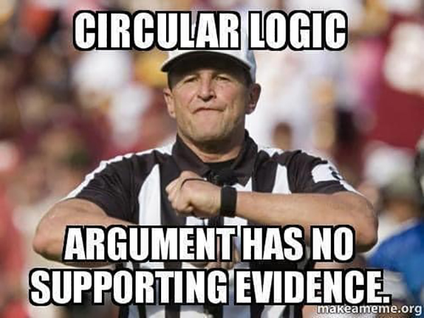 nfl ref meme arguing debate online internet fallacies 6 These NFL Ref Memes About Arguing on the Internet are Perfect