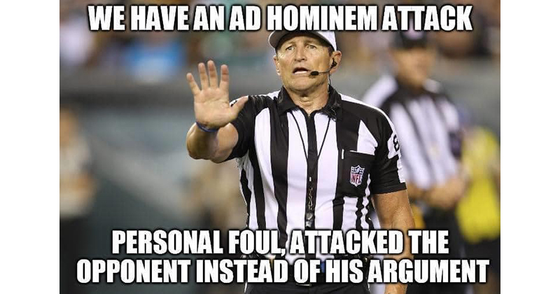 These NFL Ref Memes About Arguing on the Internet are Perfect