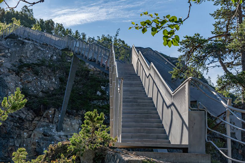norway just built a 99 step bridge over their most iconic waterfall 13 Norway Just Built a 99 Step Bridge Over Their Most Iconic Waterfall